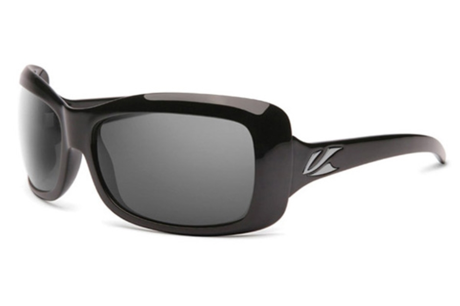 Kaenon Georgia Sunglasses in Black w/ Grey 12% Polarized Lens