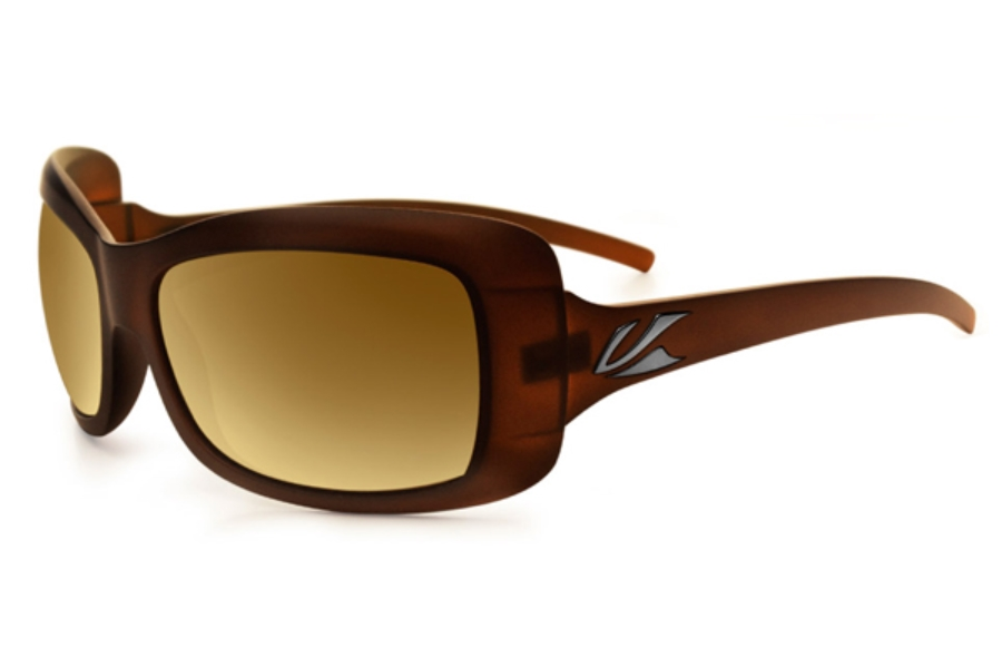 Kaenon Georgia Sunglasses in Gold Coast Polarized B12 Gold Mirror Lens