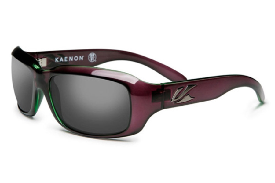 Kaenon BOLSA Sunglasses in Eggplant / Grey 12% Polarized Lens