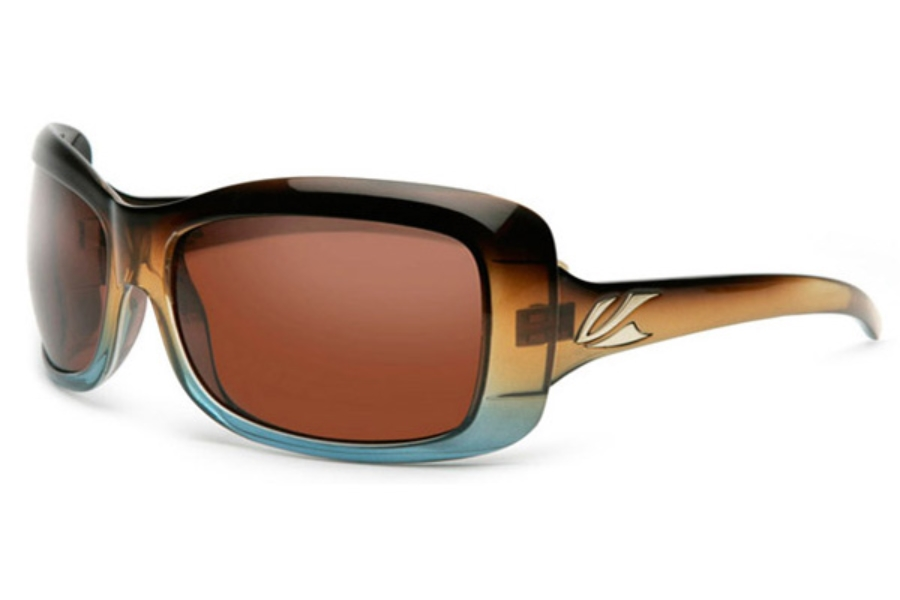 Kaenon Georgia Sunglasses in Tobacco Denim w/ Copper 12% Polarized Lens