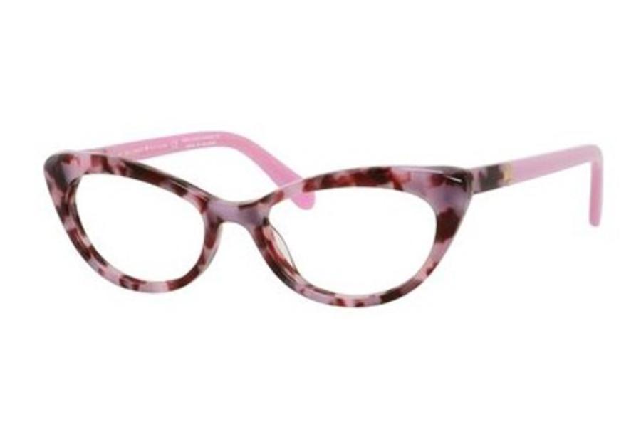 Glasses Frames Pink : Kate Spade ANALENA Eyeglasses FREE Shipping - Go-Optic.com
