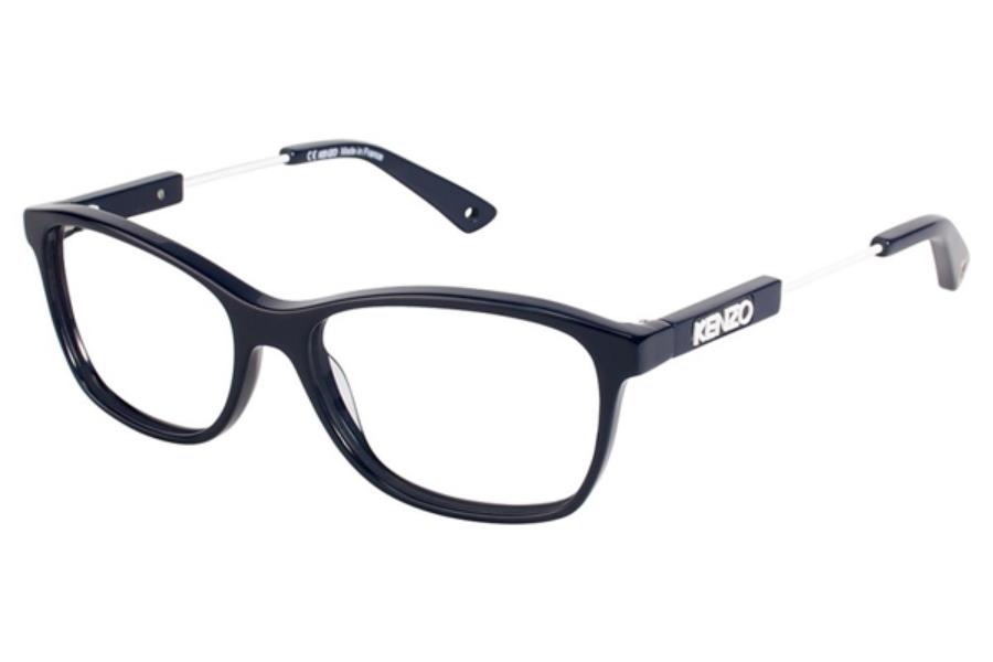 Kenzo Glasses Frames : Kenzo 2255 Eyeglasses FREE Shipping - Go-Optic.com
