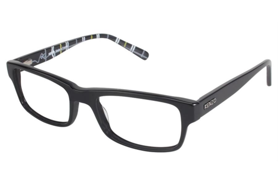 Kenzo Glasses Frames : Kenzo 4186 Eyeglasses FREE Shipping - Go-Optic.com
