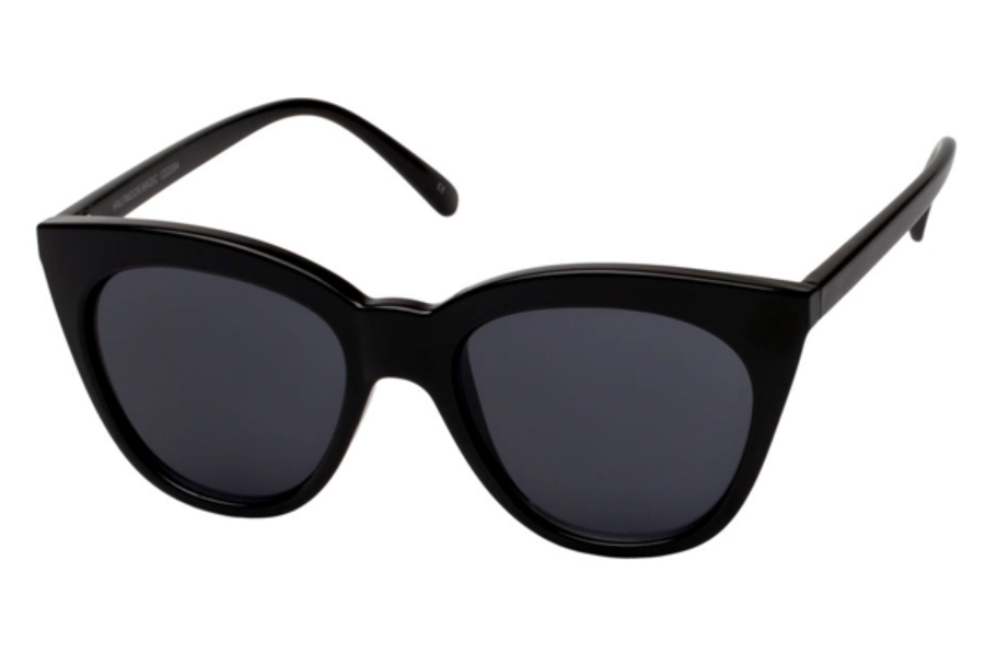 LeSpecs Halfmoon Magic Sunglasses in LSP1202094 Black