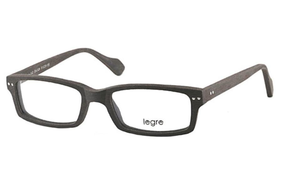 7fb633f7c6b Legre LE152 Eyeglasses in 528 Dark Brown Wood ...