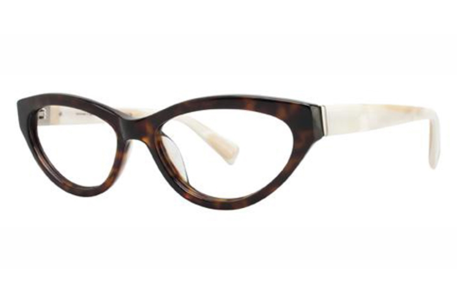 Seraphin by OGI LYNDALE Eyeglasses in 8670 - DARK TORTOISE/PEARL WHITE