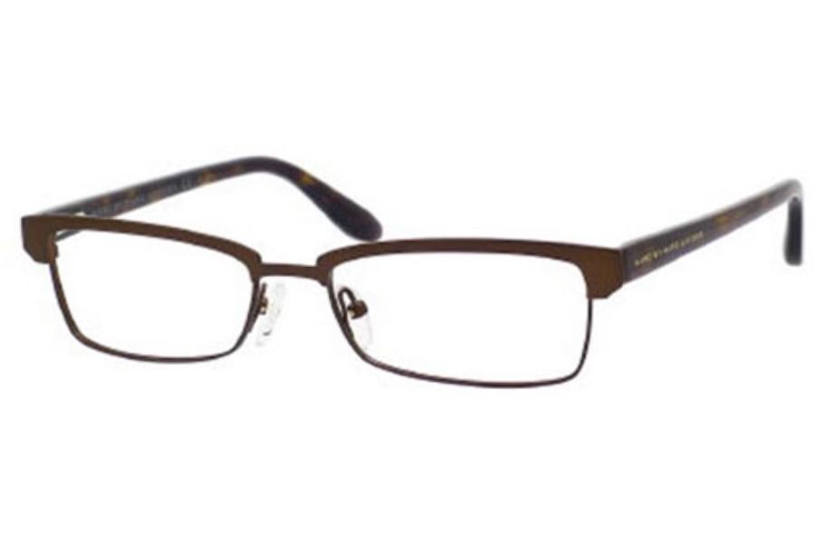 4c1542acddb ... Marc By Marc Jacobs MMJ 523 Eyeglasses in 0TQQ Semi Matte Brown Dark  Havana ...
