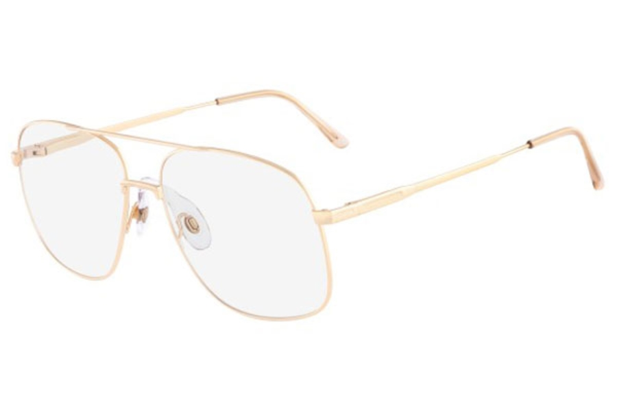 Marchon M-JONATHAN 2 Eyeglasses in 840 Gold