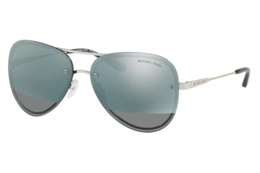 Michael Kors Damen Sonnenbrille LA Jolla 1169F1, Black/Blockfuchsiamirror, 59