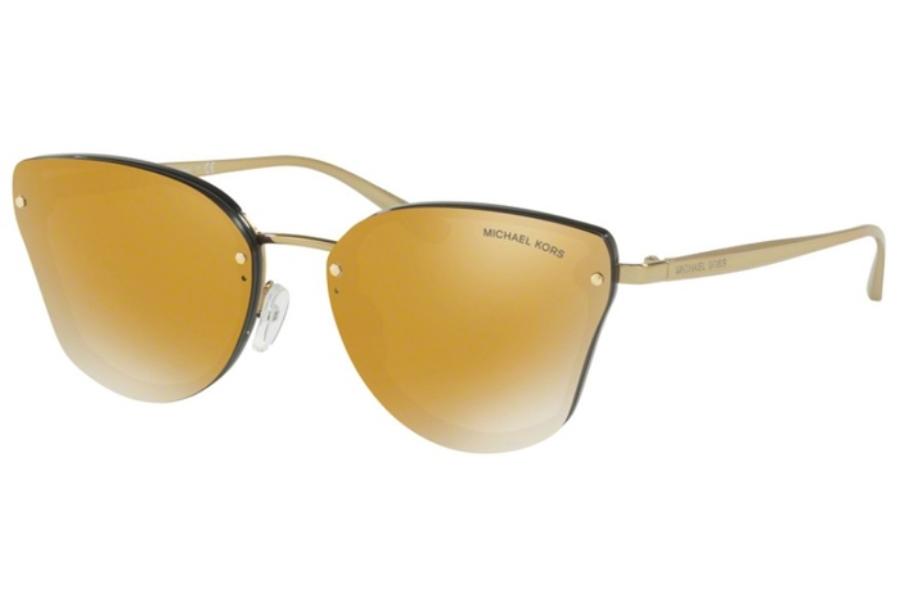 MICHAEL KORS Michael Kors Damen Sonnenbrille »SANIBEL MK2068«, rosa, 32466G - rosa/silber