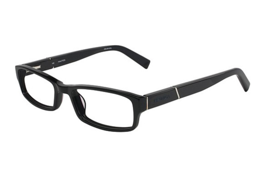 Nautica N8054 Eyeglasses in 300 Black