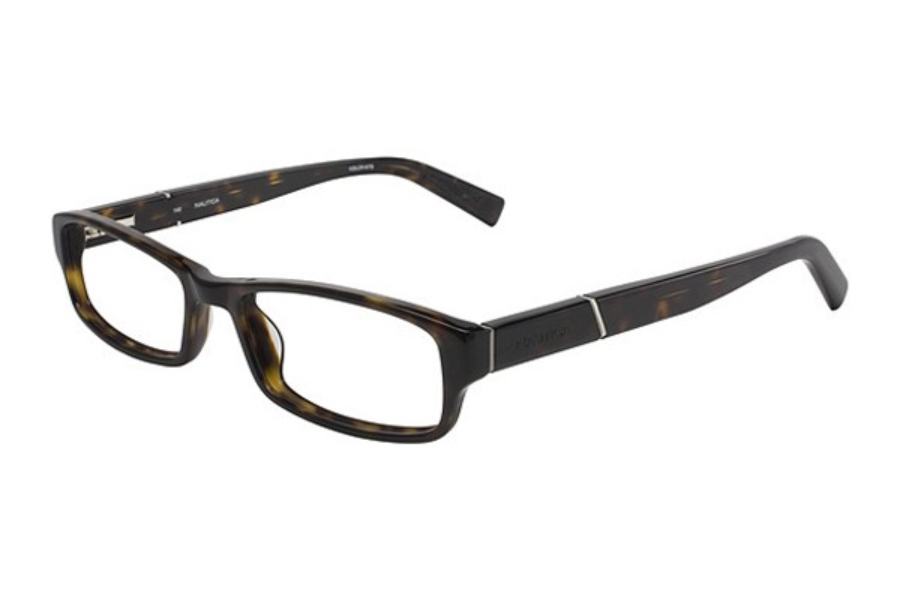 Nautica N8054 Eyeglasses in 310 Dark Tortoise