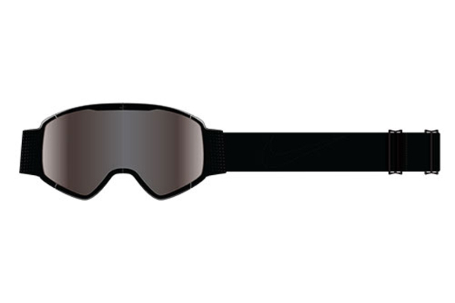 Nike MAZOT 1 EV0932 Goggles in 01A Matte Black/Jet Ion