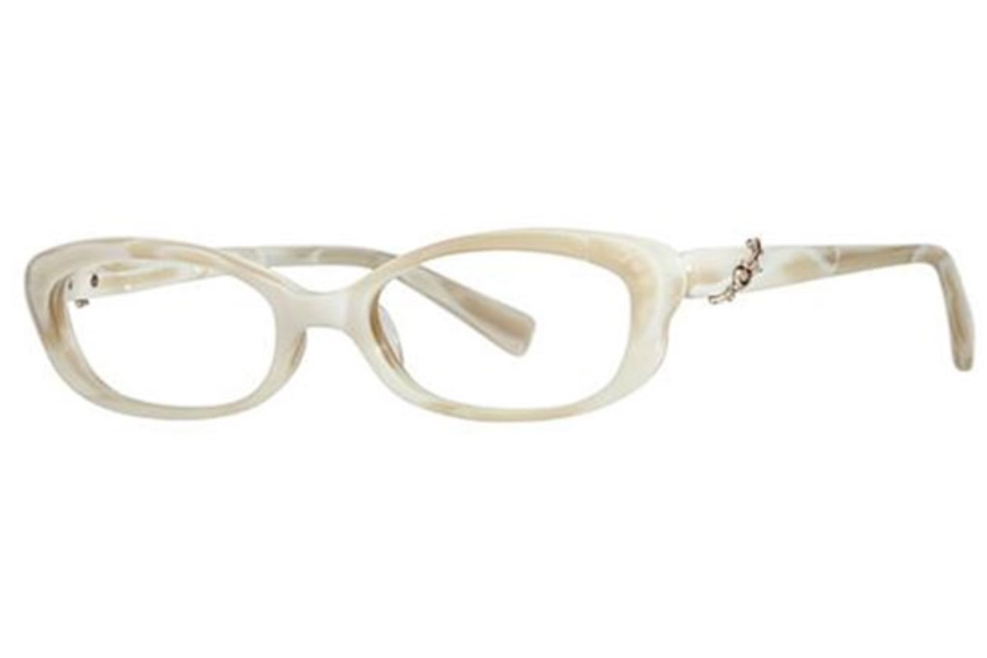 Seraphin by OGI BRYANT Eyeglasses in 8594 Creamy White Pearl/Gold