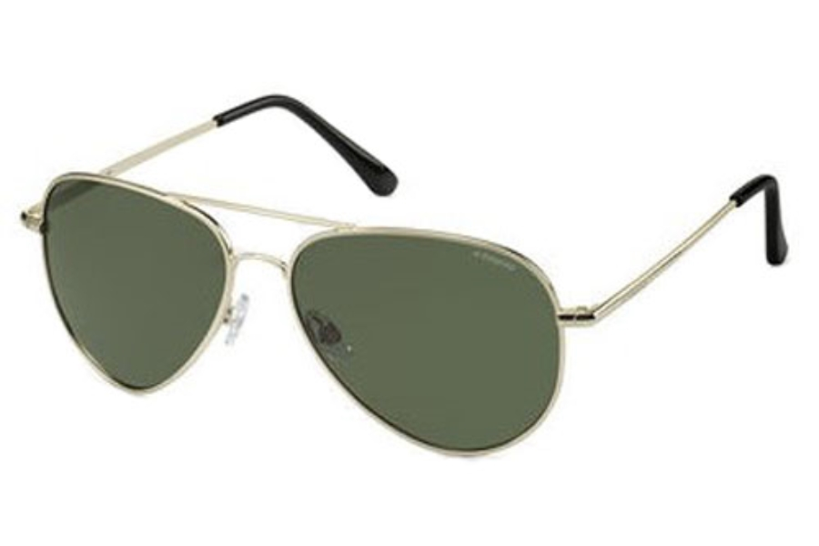 Polaroid P 4139/S Sunglasses in 01J8 F / G / Gold (RC green polarized lens)