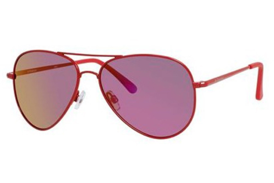 Polaroid P 4139/S Sunglasses in 0C6P Dark Pink Shiny (AI brown mirror pol lens)
