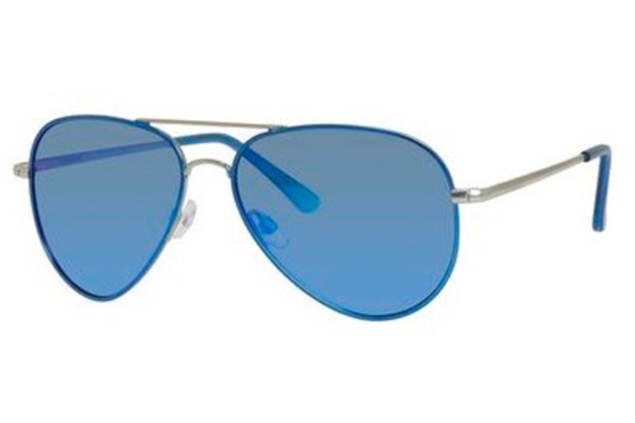 Polaroid P 4139/S Sunglasses in 0QUG Palladium Blue (Jy Gry Blue Mirpol Lens)