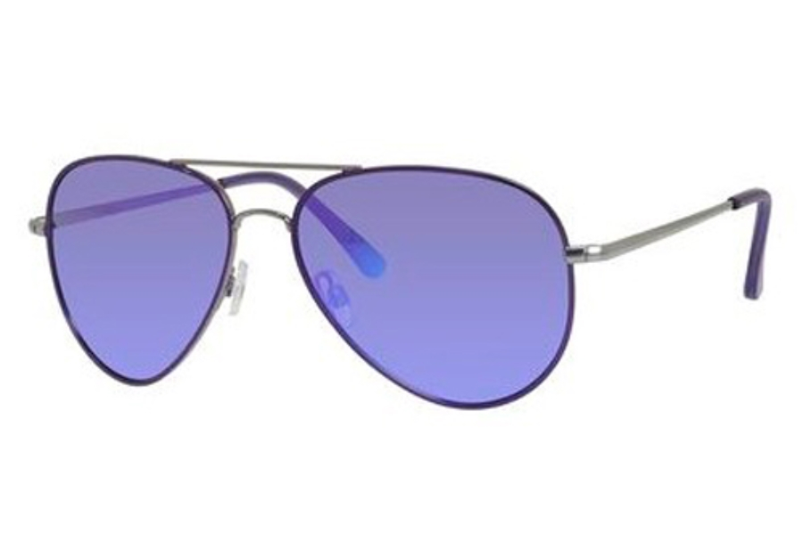 Polaroid P 4139/S Sunglasses in 0R4B Ruthenium Violet (MF purple polarized lens)