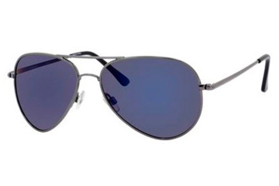 Polaroid P 4139/S Sunglasses in 0S3T C- Dark Blue (KF blue mirror polarized lens)