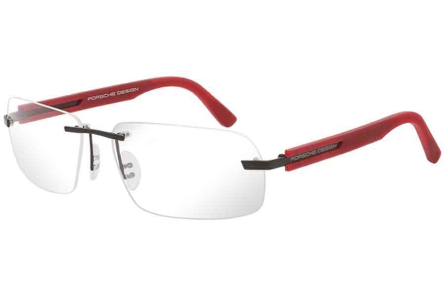 porsche design p 8233 eyeglasses free shipping