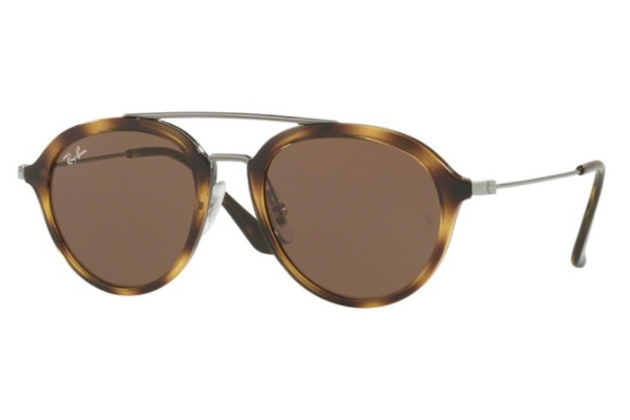 Ray-Ban Junior RJ 9065S Sunglasses in 152/73 Havana / Dark Grey