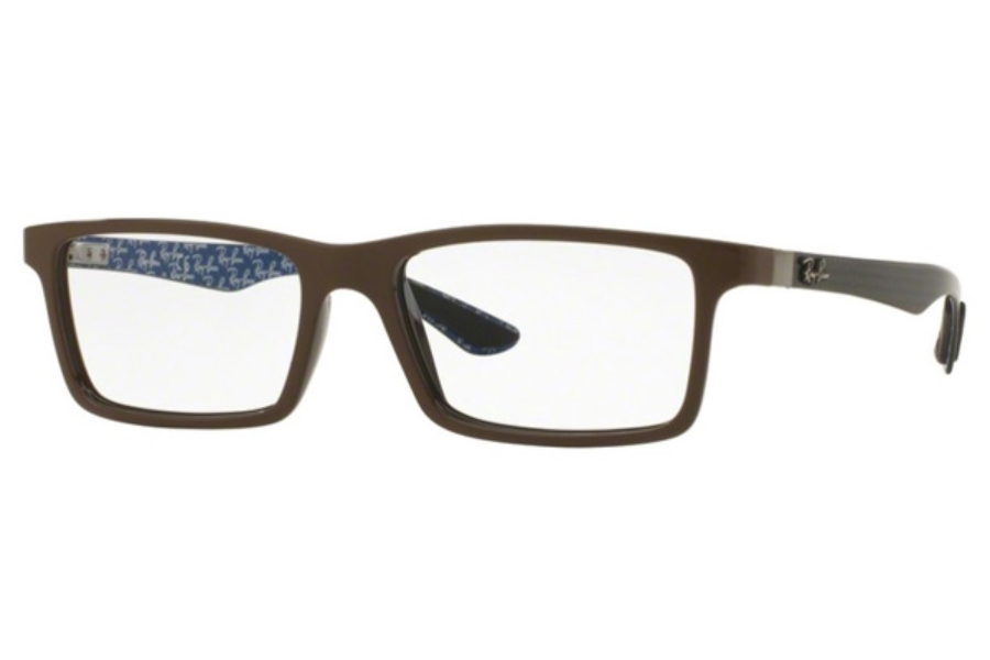 Ray-Ban RX 8901 Eyeglasses in 5612 Top Brown On Shiny Brown