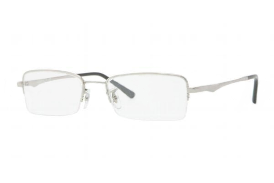 Ray-Ban RX 7518 Eyeglasses in 1002 SILVER DEMO LENS