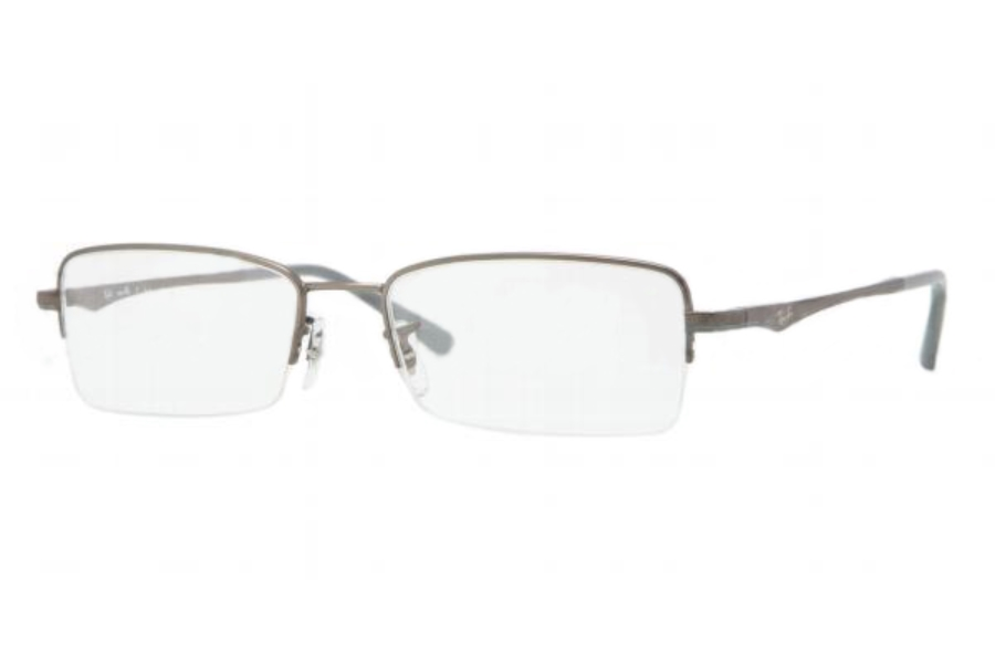 Ray-Ban RX 7518 Eyeglasses in 1073 MATTE GUNMETAL DEMO LENS