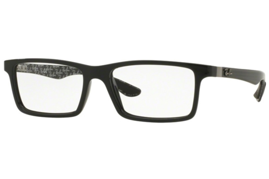 Ray-Ban RX 8901 Eyeglasses in 5610 Top Black On Shiny Grey