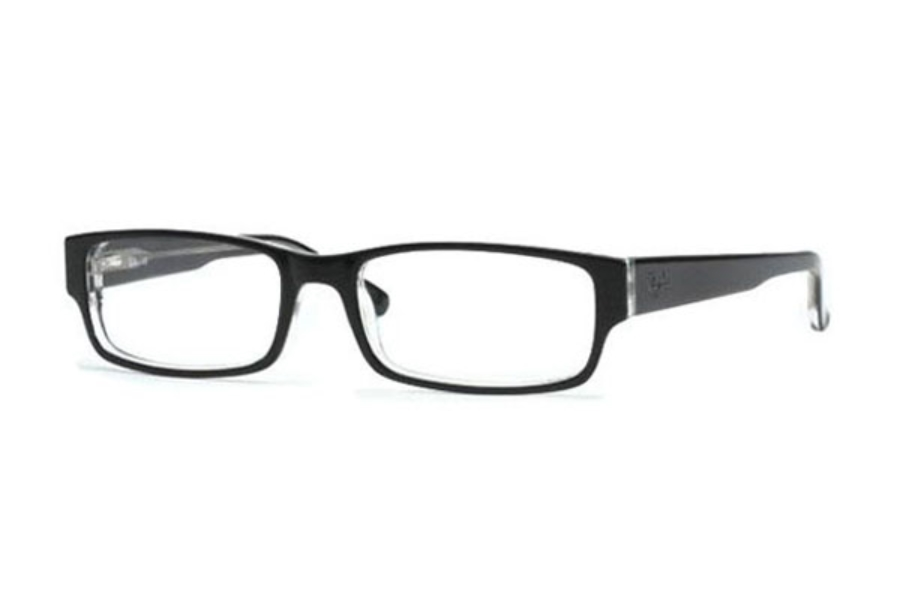 Ray-Ban RX 5069 Eyeglasses in 2034 Black/Crystal