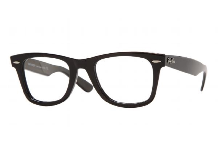 Ray-Ban RX 5121 (Wayfarer RX) Eyeglasses in 2000 Black