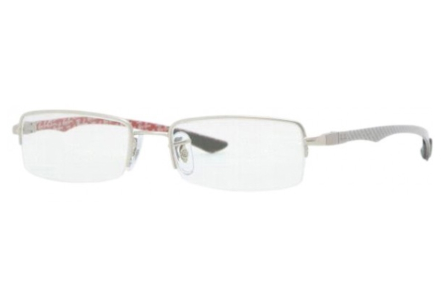 Ray-Ban RX 8407 Eyeglasses in 2703 Matte Silver (52 eye size only)