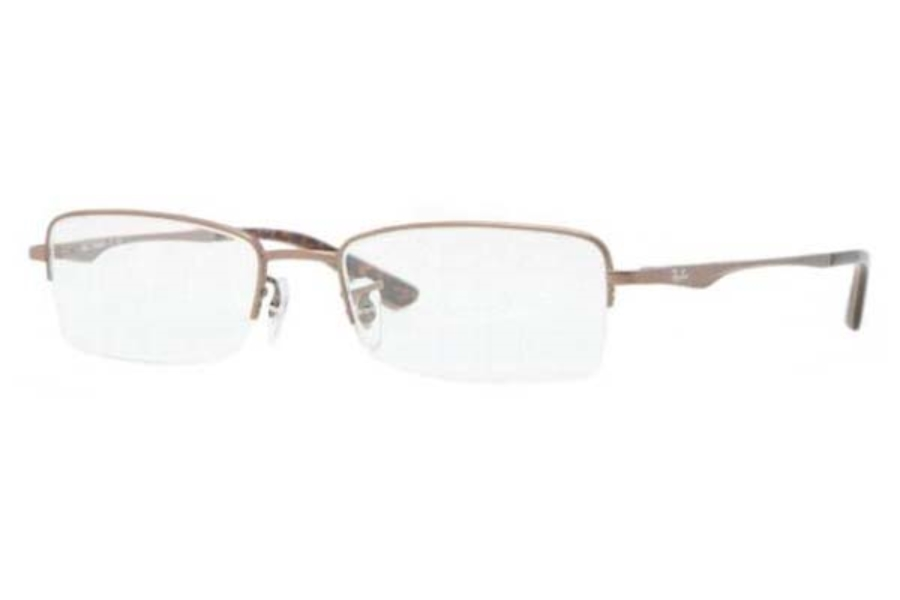 Ray-Ban RX 8692 Eyeglasses in 1107 Matte Light Brown