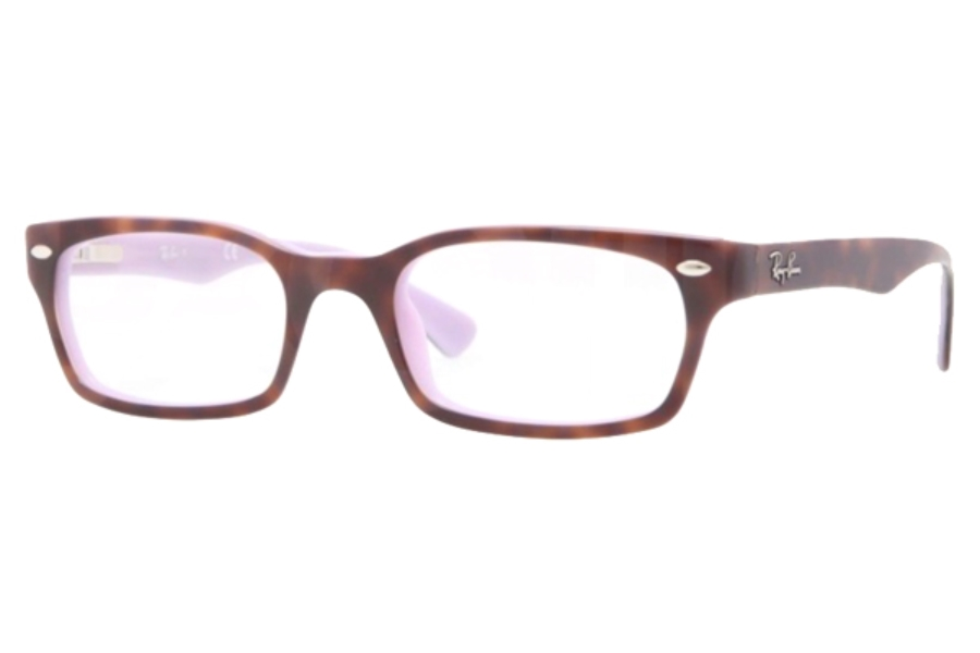 Ray-Ban RX 5150 Eyeglasses in 5240 TOP HAVANA ON OPAL VIOLET (48 & 50 Eyesizes Only)