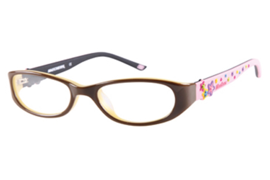 Skechers SK 1508 Eyeglasses in BRNPK: BROWN/PINK