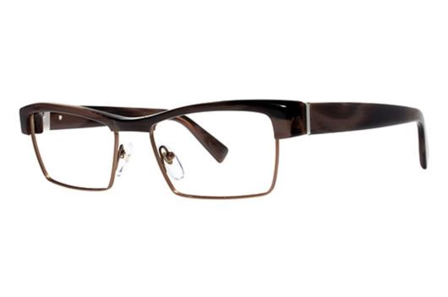 Seraphin by OGI ALBERT Eyeglasses in 8753 Brown Horn/Rust Brown