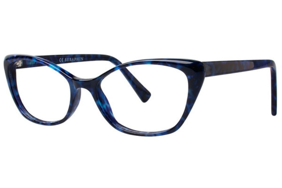 Seraphin by OGI BRITTANY Eyeglasses in 8762 Blue Granite