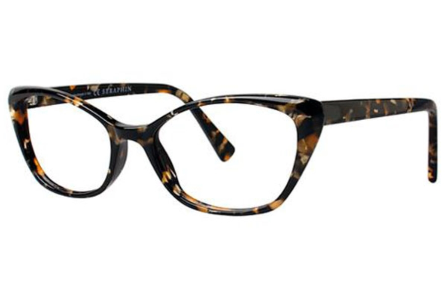 Seraphin by OGI BRITTANY Eyeglasses in 8829 Black Gold Pearl