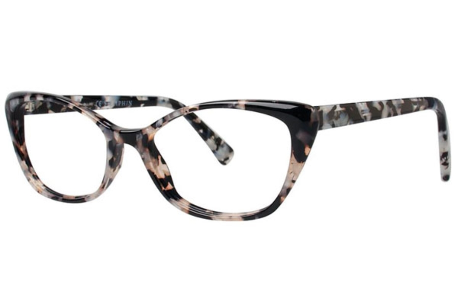 Seraphin by OGI BRITTANY Eyeglasses in 8830 Black Silver Pearl