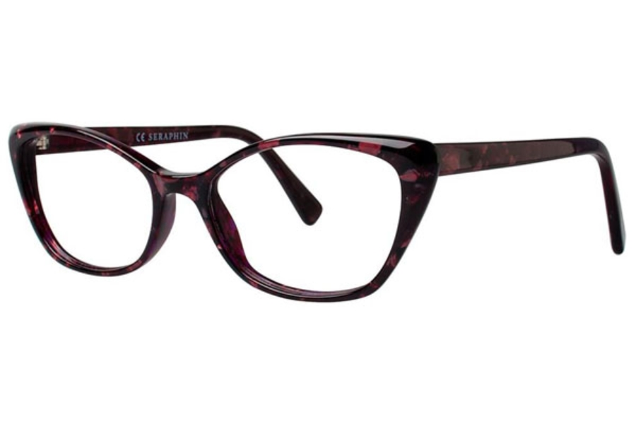 Seraphin by OGI BRITTANY Eyeglasses in 8761 Pink Granite
