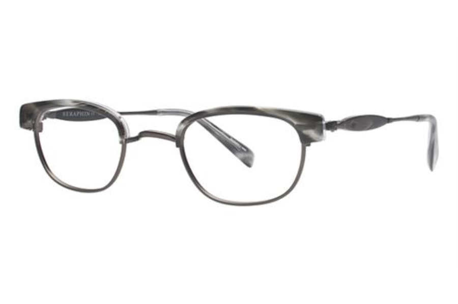 Seraphin by OGI GRIGGS Eyeglasses in 8613 Grey Demi/Gunmetal