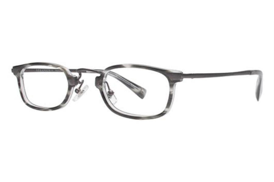 Seraphin by OGI LAWTON Eyeglasses in 8613 Grey Demi/Gunmetal