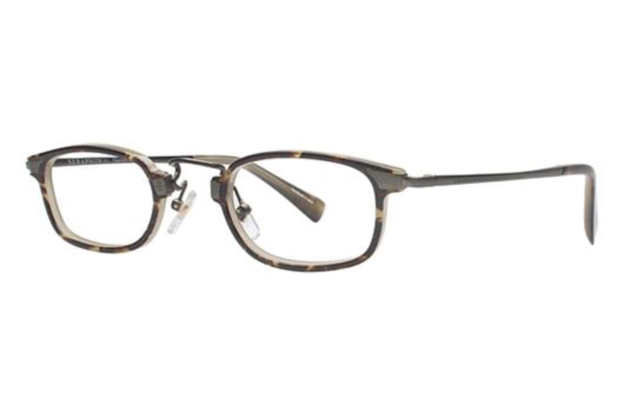 Seraphin by OGI LAWTON Eyeglasses in 8779 Brown Demi/Light Olive