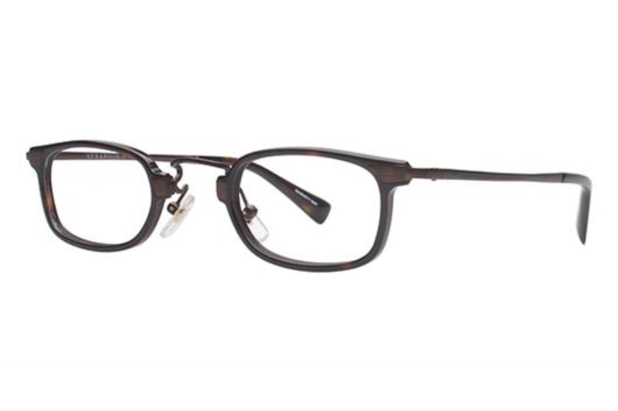 Seraphin by OGI LAWTON Eyeglasses in 8780 Dark Tortoise/Bronze