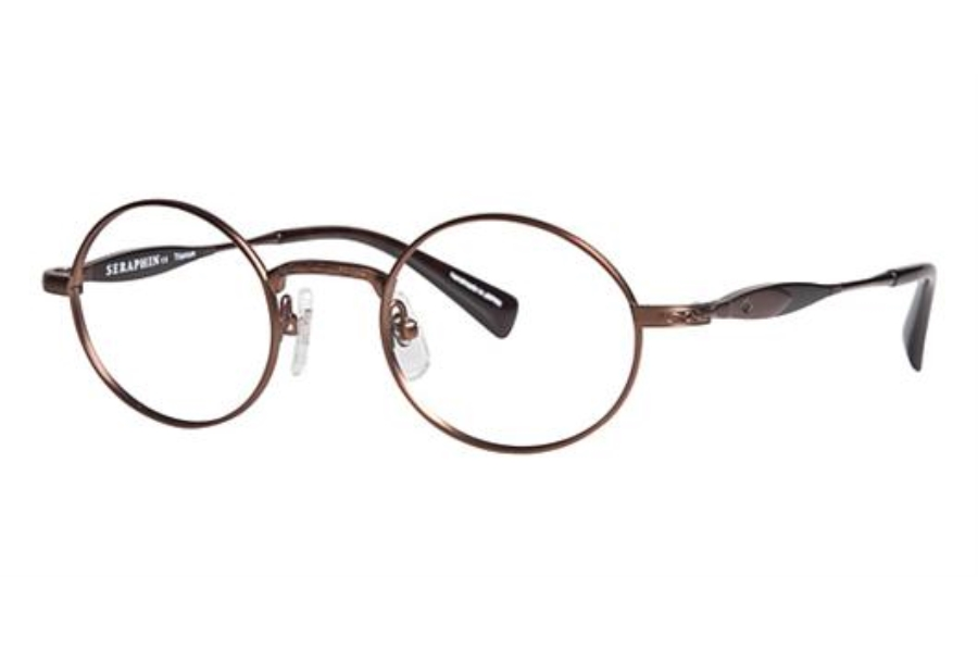 Seraphin by OGI OXFORD Eyeglasses in 8735 Bronze / Dark Brown Tortoise