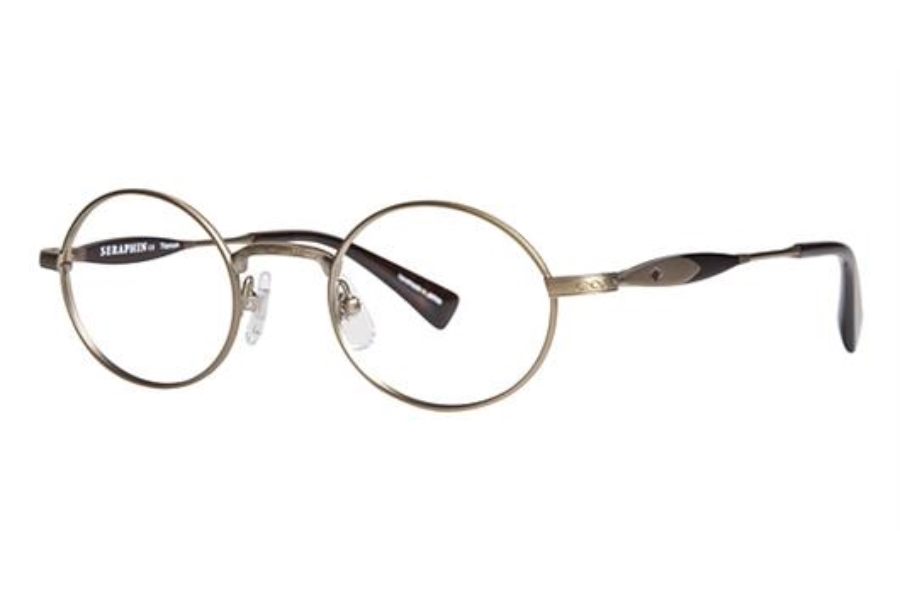 Seraphin by OGI OXFORD Eyeglasses in 8739 Light Antique Gold / Dark Brown Tortoise