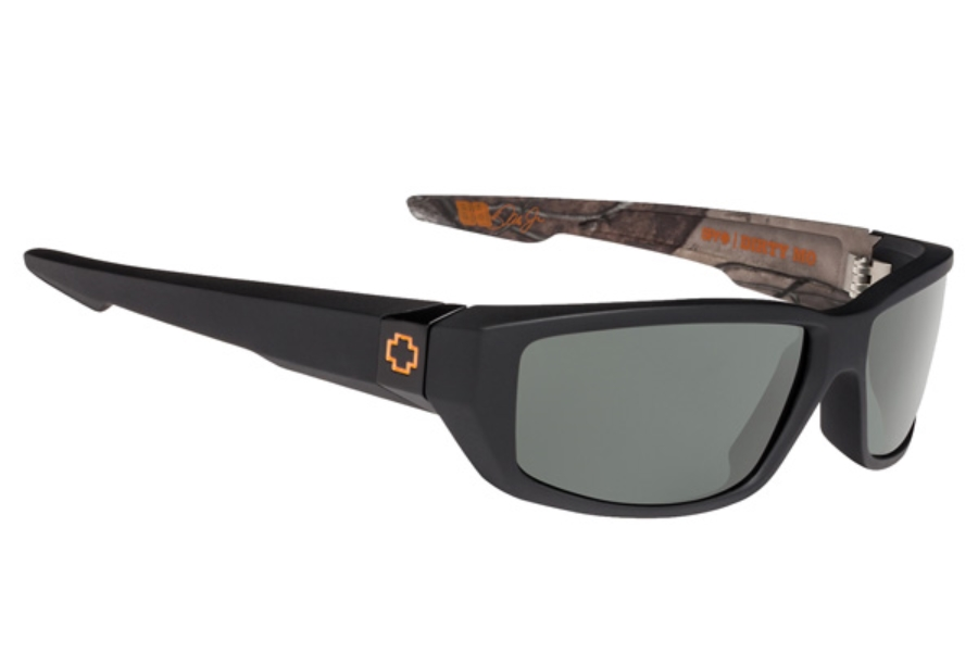 Spy DIRTY MO Sunglasses in Decoy True Timber / Happy Grey Green Polar