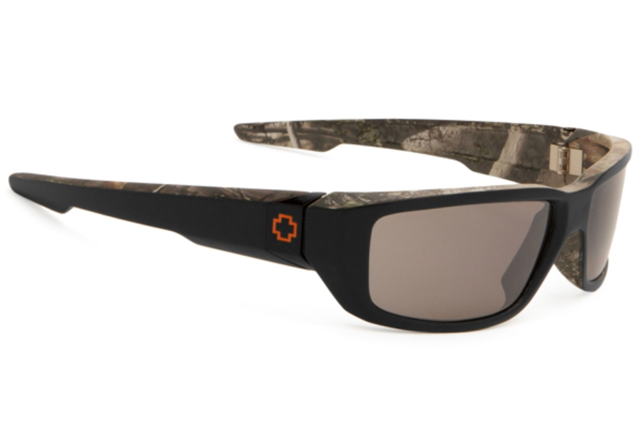 Spy DIRTY MO Sunglasses in Decoy w/ Happy Bronze Polarized w/ Black Mirror Lens