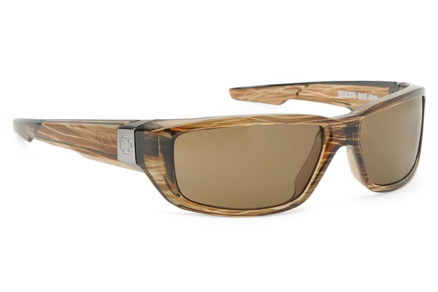 Spy DIRTY MO Sunglasses in Brown Tortoise w/ Bronze Polarized Lens