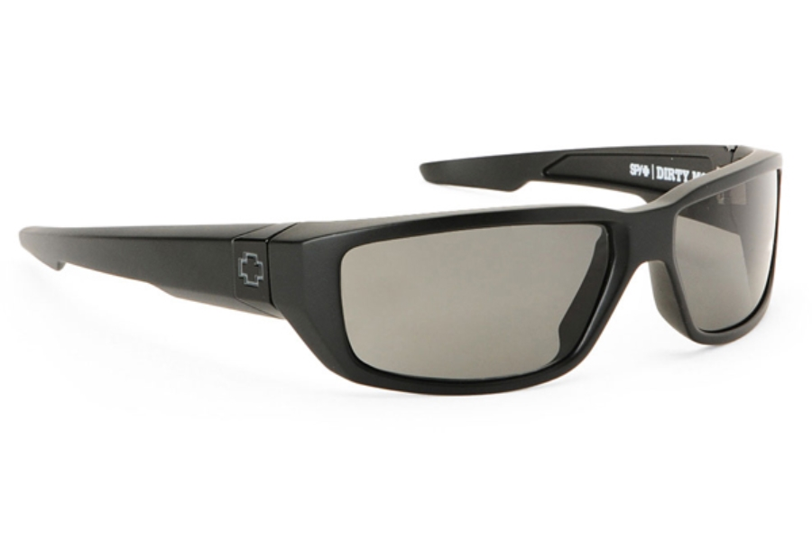 Spy DIRTY MO Sunglasses in Spy + Dale Earnhardt Jr. Matte Black w/ Grey Polarized Lens